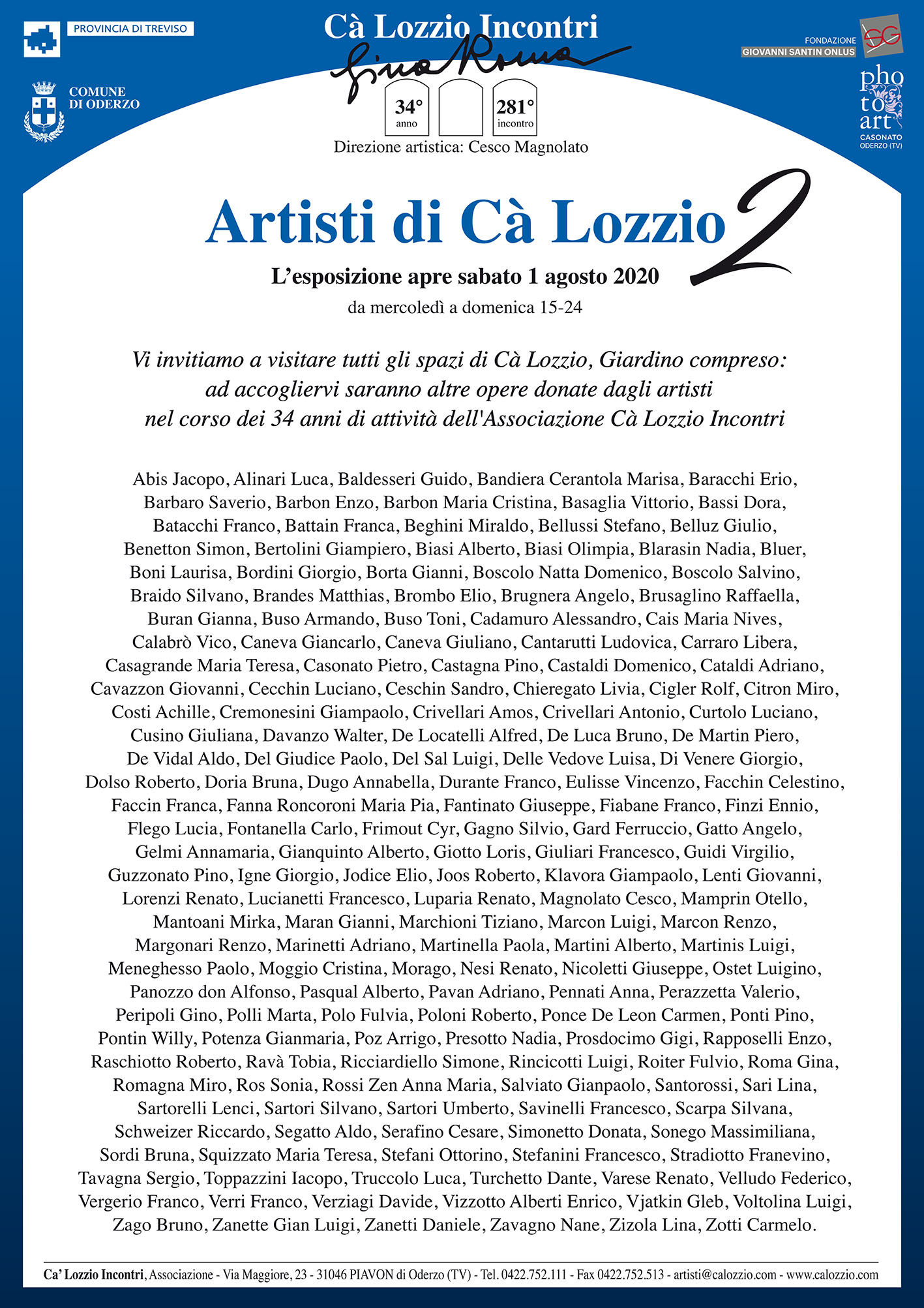 Artisti di Ca' Lozzio 2