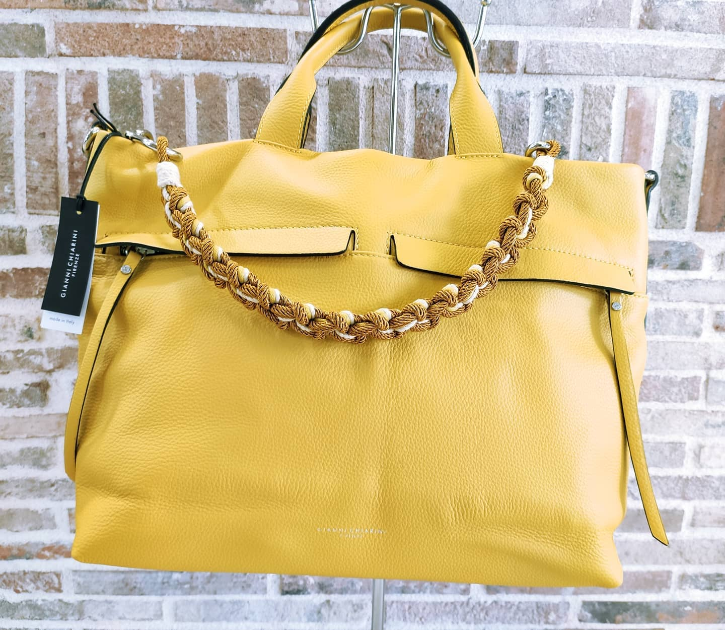 Borsa in pelle MADE IN ITALY By Gianni Chiarini