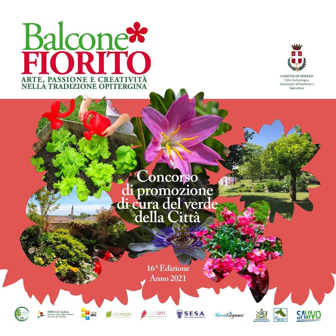 🌹 16a edizione del concorso Balcone Fiorit...