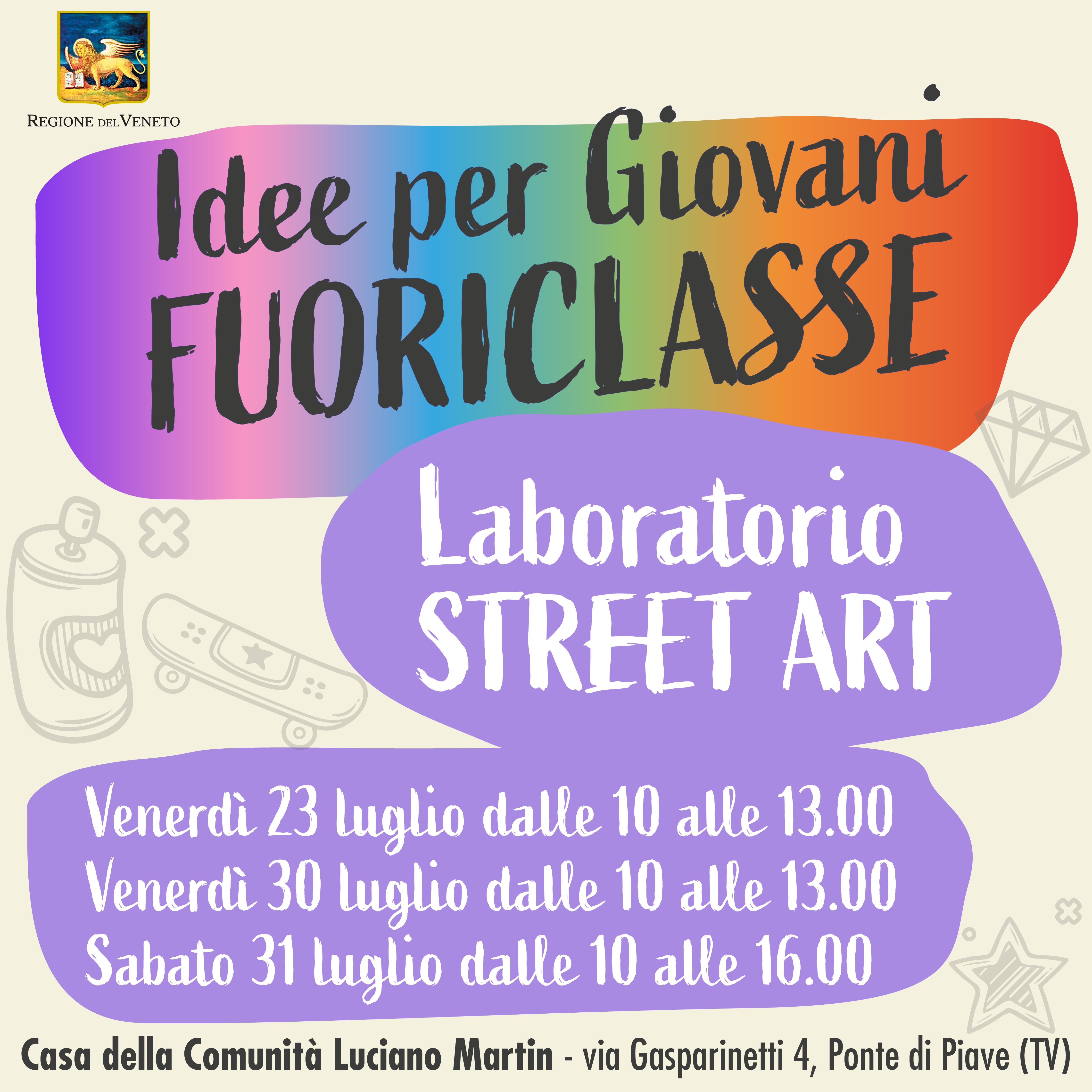 🎨 LABORATORIO STREET ART gratuito per giov...