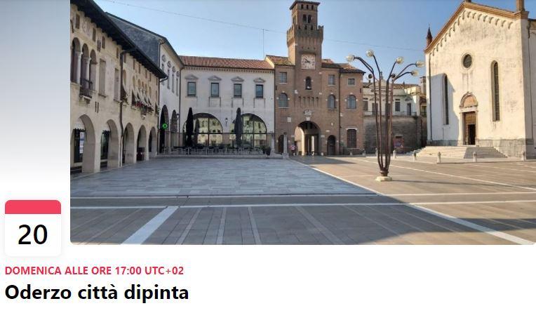 Domenica 20 giugno conosci Oderzo città dipinta g...