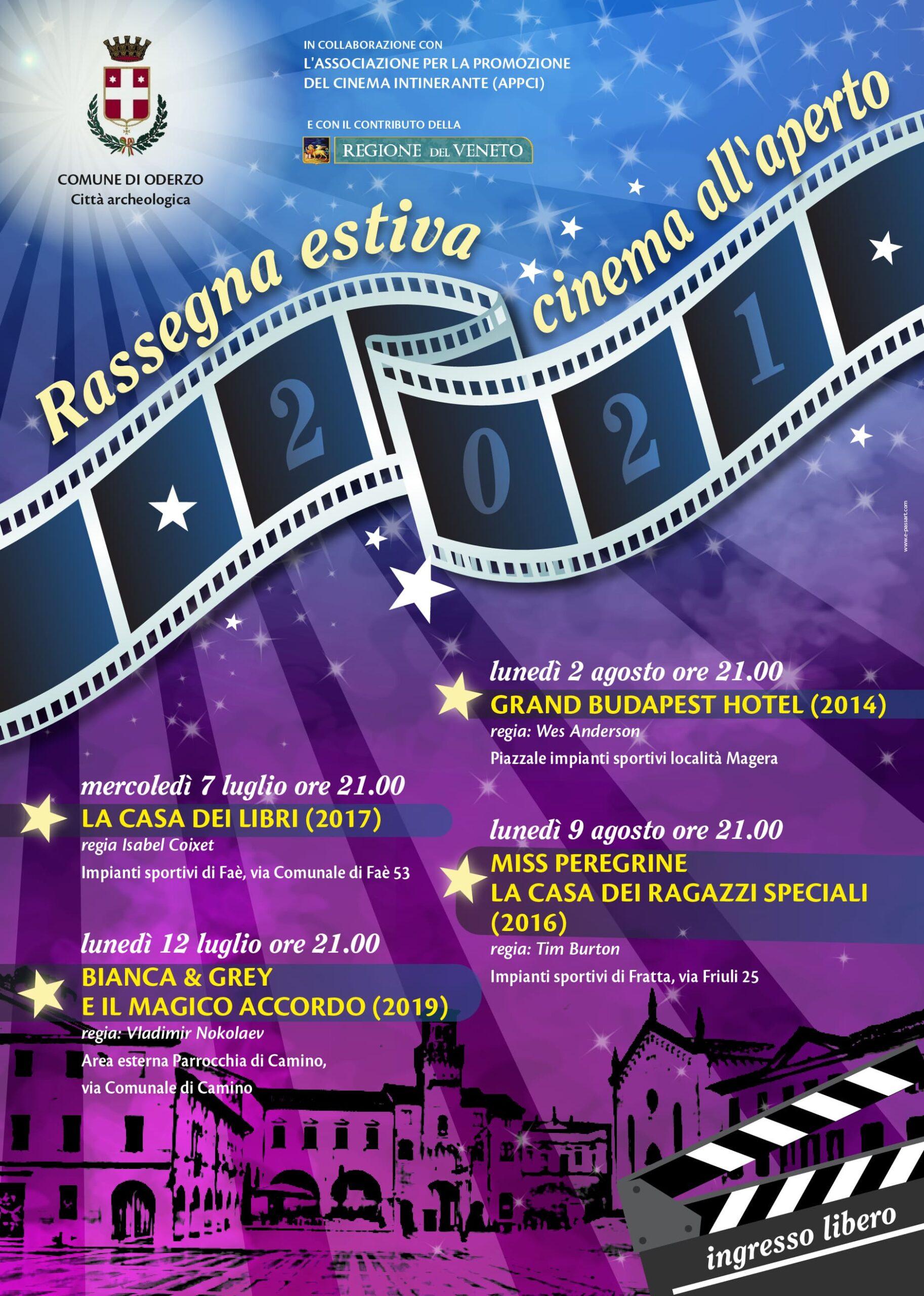 🎬 Rassegna estiva cinema all'aperto ...