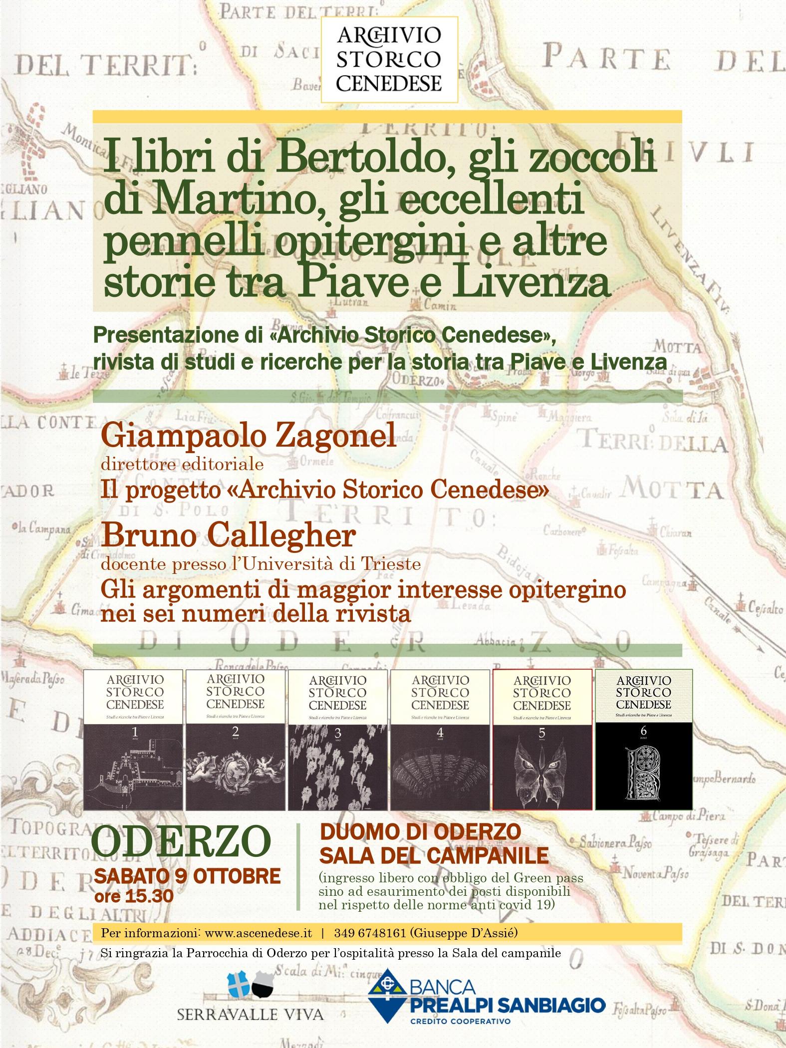 Archivio storico cenedese. Presentazione del sesto...